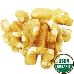 Category: Dropship Grocery, SKU #BWC03544, Title: Nuts Shld Walnut Hlvs/Pcs (1x25LB )