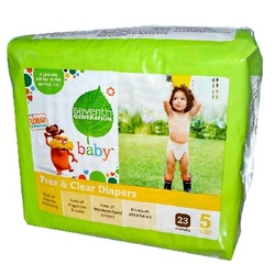 Seventh Generation Diapers Stage 5 (4x23 CT)