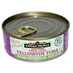 Crown Prince Yllwfin In Olive Oil (12x5OZ )