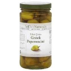 Jeff's Naturals Peperoncini Greek (6x12OZ )