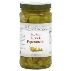 Jeff's Naturals PeprnciniSliced Grk (6x12OZ )