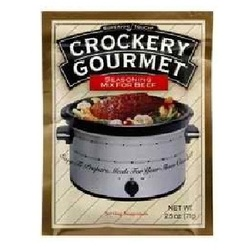 Crockery Gourmet Beef Seasoning Mix (12x2.5OZ )