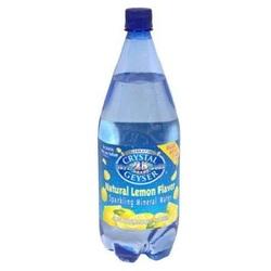 Crystal Geyser Lemon Mineral Water (12x42.25OZ )
