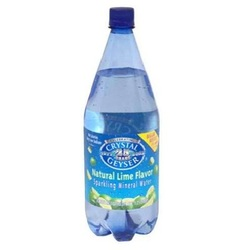 Crystal Geyser Lime Mineral Water (12x42.25OZ )