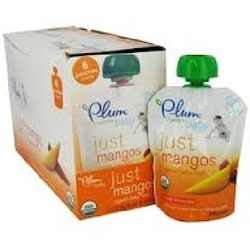 Plum Organics Just Mangos (6x3.5OZ )