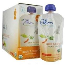 Plum Organics Apple/Carrot (6x4OZ )