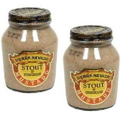 Sierra Nevada Specialty Food Mustard Stout/StinGround (6x8OZ )