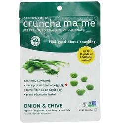 Cruncha Ma-Me Edamame On/Chive (8x0.7OZ )