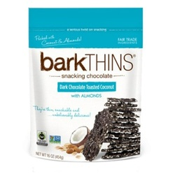 Bark Thins Dark Chocolate, Coconut Almond (12x4.7 OZ)