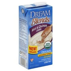 Dre Blends Rice/Qna Beverage Unsweetened (6x32OZ )