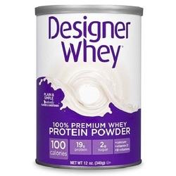 Designer Whey Plain/S Mapple Protein Powder (1x12OZ )