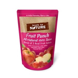 Back To Nature 100% Juice Fruit Punch (5x8Pack )