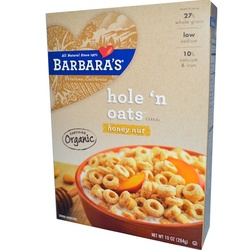 Barbara's Bakery Honest O's Honeynut (6x10OZ )