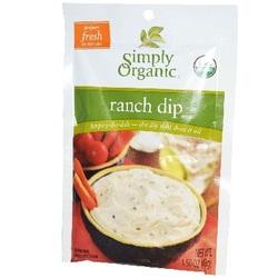 Simply Organic Ranch Dip Mix (12x1.5OZ )