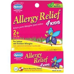 Hylands Homeopathic Remedies Allergy Relief 4Kids (1x125TAB )