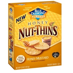 Blue Diamond Honey Mustard Nut Thins (12x4.25 OZ)
