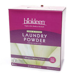 Bi-O-Kleen Free & Clear Laundry Powder (1x10LB )