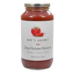 Dave's Gourmet Spicey Mrnra Sauce (6x25.5OZ )