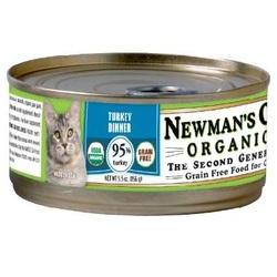 Newman's Own Organics Turkey Grain Free Cat (24x5.5OZ )