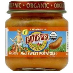 Earth's Best Baby Foods Baby 1St Sweet Potato (12x2.5OZ )