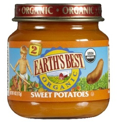 Earth's Best Baby Foods Baby Sweet Potatoes (12x4OZ )
