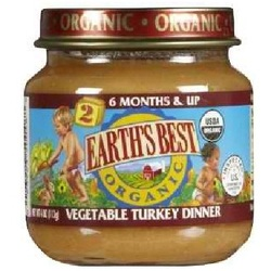 Earth's Best Baby Foods Baby Veg/Turkey (12x4OZ )