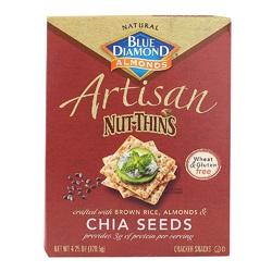 Blue Diamond Chia Seed  Crackers (12x4.25OZ)