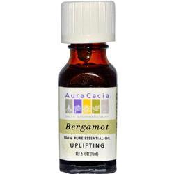 Aura Cacia Bergamot Essential Oi (1x0.5OZ )