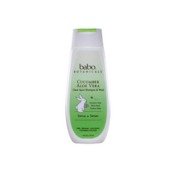 Babo Botanicals Shampoo and Wash Cucumber Aloe Vera (8 fl Oz)