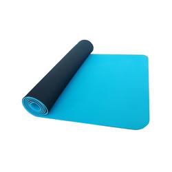 Thinksport Yoga Mat Black-Blue Ice