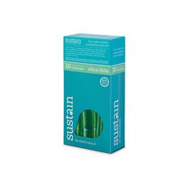 Sustain Condoms Ultra Thin (1x10 Count)