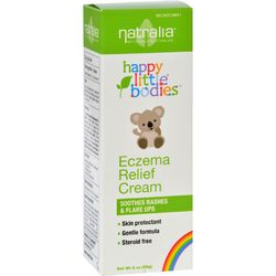 Happy Little Bodies Eczema Relief Cream  Natralia  2 oz