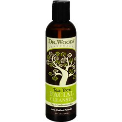 Dr. Woods Facial Cleanser  Tea Tree  8 oz