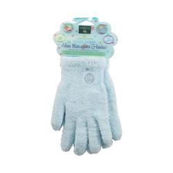 Earth Therapeutics Aloe Moisture Gloves Blue (1 Pair)