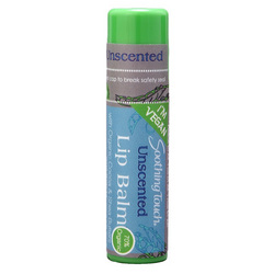 Soothing Touch Lip Balm Vegan Unscented (1x.25 Oz)