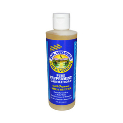 Dr. Woods Shea Vision Pure Castile Soap Peppemint with Organic Shea Butter (8 fl Oz)