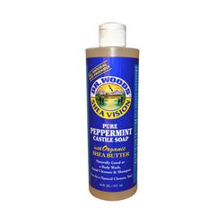 Dr. Woods Pure Castile Soap Peppermint  16 fl oz