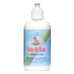 Rainbow Research Body Lotion Organic Herbal Baby Unscented (8 fl Oz)