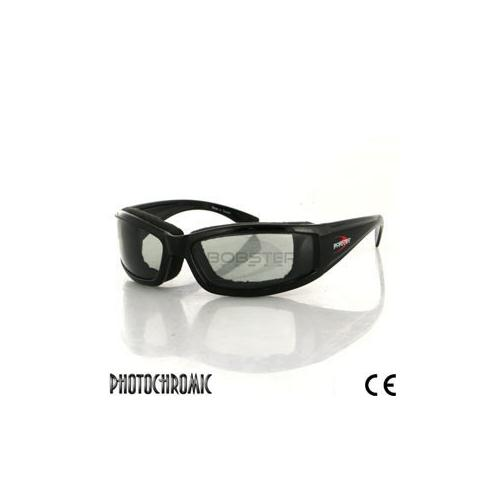 Invader Sunglass, Black Frame, Photochromic Lens