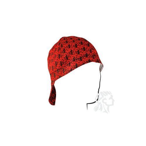 Welders Cap, Cotton, Skull Pattern, Size 7.25