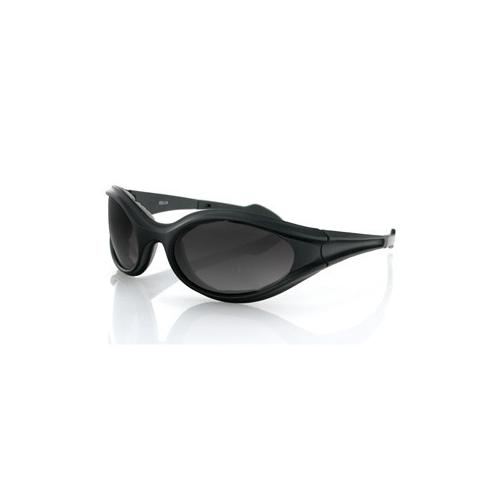 Foamerz Sunglass, Black Frame, Anti-fog Smoked Lens