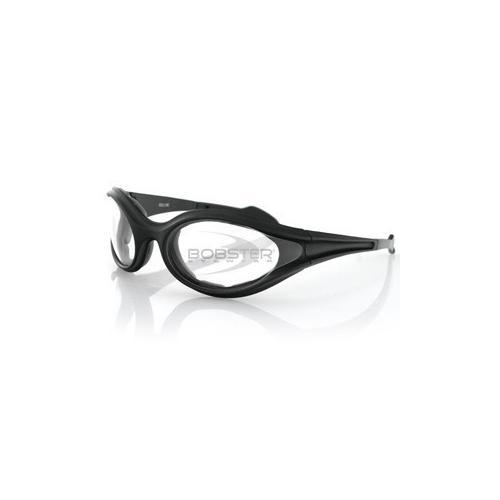 Foamerz Sunglass, Black Frame, Anti-fog Clear Lens