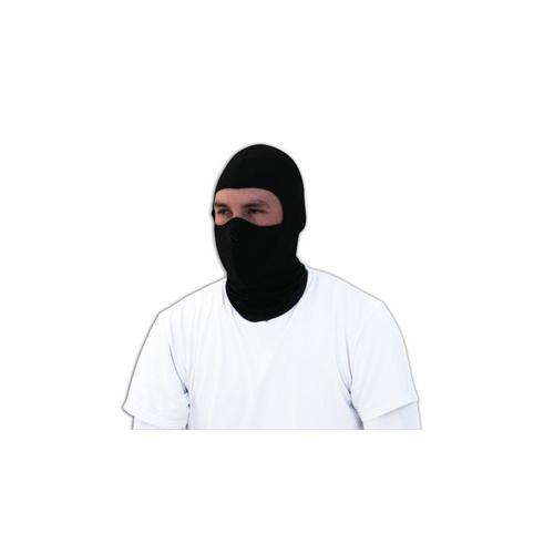 Balaclava, COOLMAX®® w/ Neoprene Half Mask, Black