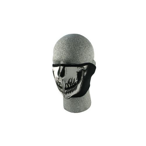 Half Mask, Neoprene, Skull Face