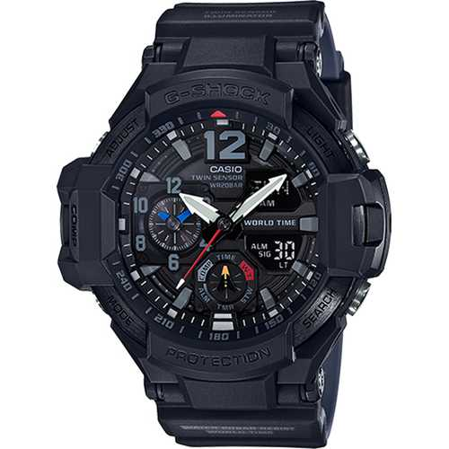 Casio Men's G-Shock Master of G Gravitymaster Black Watch