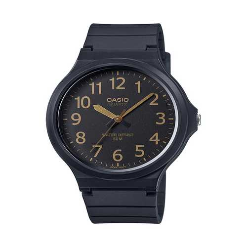 Casio Men's 'Easy To Read' Quartz Black Casual Watch (Model: MW240-1B2V)