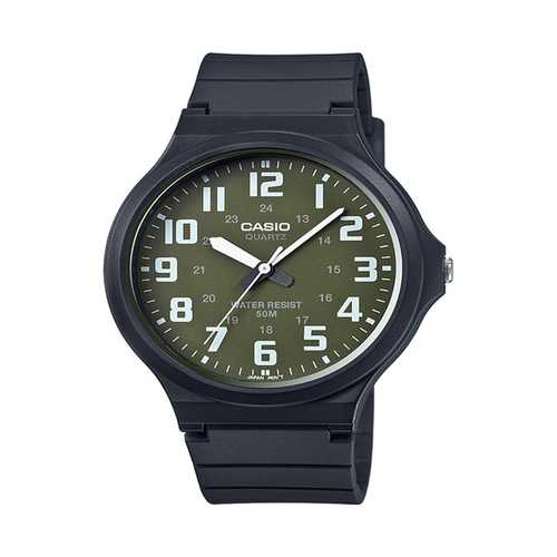 Casio Men's 'Easy To Read' Quartz Black Casual Watch (Model: MW240-3BV)