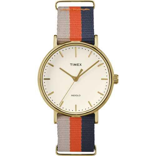 Timex TW2P91600 Fairfield 37mm Nylon Strap Watch