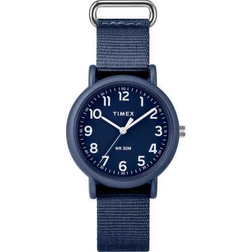 Timex TW2R41000 Weekender   34mm Fabric Strap Watch