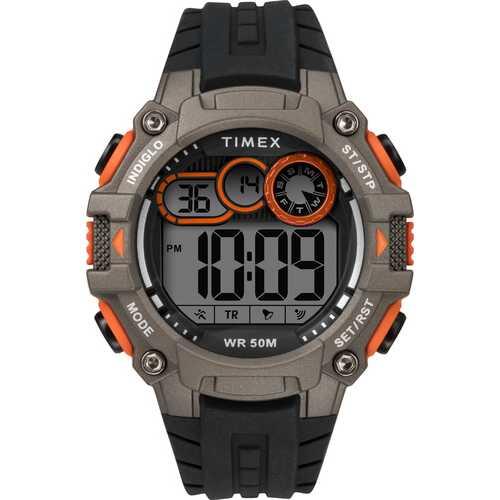 Timex TW5M27200 DGTL Big Digit 48mm Silicone Strap Watch